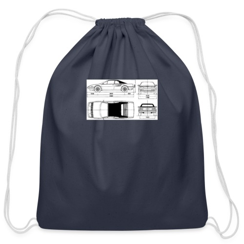 artists rendering - Cotton Drawstring Bag