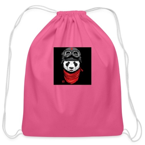 Panda - Cotton Drawstring Bag