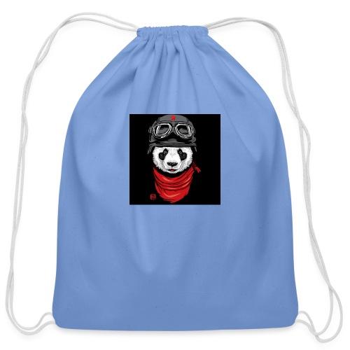 Panda - Cotton Drawstring Bag