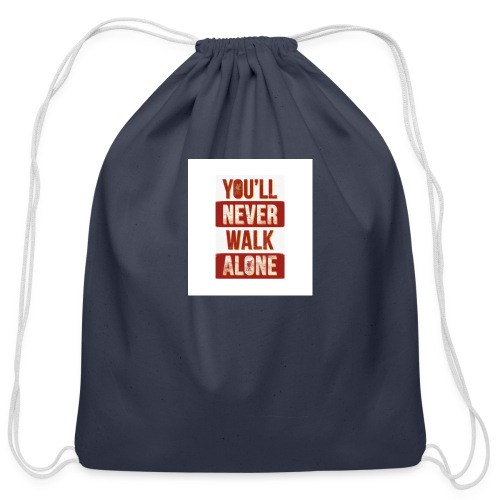 liverpool fc ynwa - Cotton Drawstring Bag