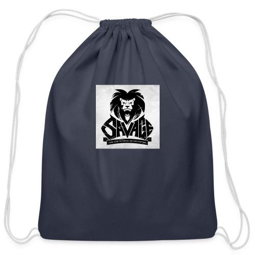 king savage - Cotton Drawstring Bag