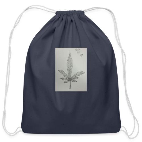 Happy 420 - Cotton Drawstring Bag