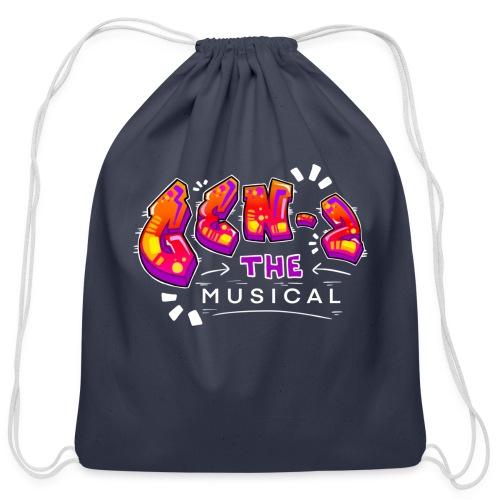 Gen Z Musical Logo - Cotton Drawstring Bag