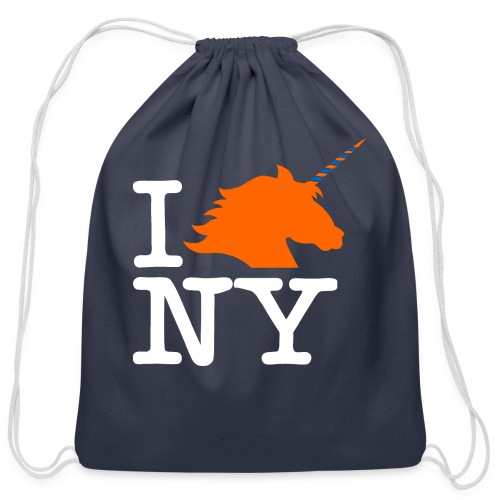 I Unicorn New York (Kristaps Porzingis) - Cotton Drawstring Bag