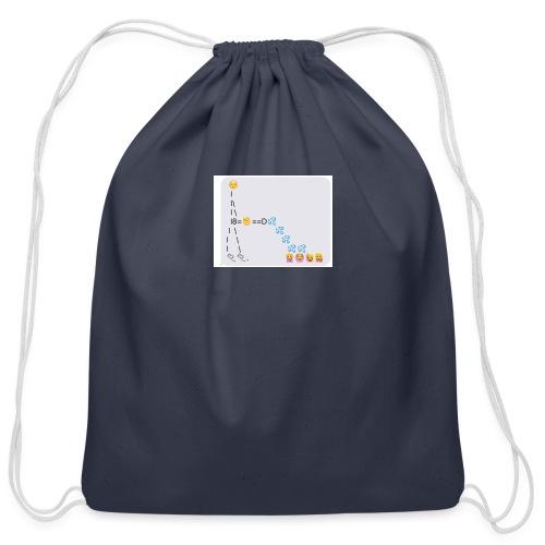 PD Cover Art - Cotton Drawstring Bag