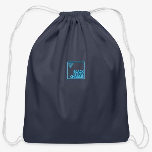 Black Luckycharmsshp - Cotton Drawstring Bag
