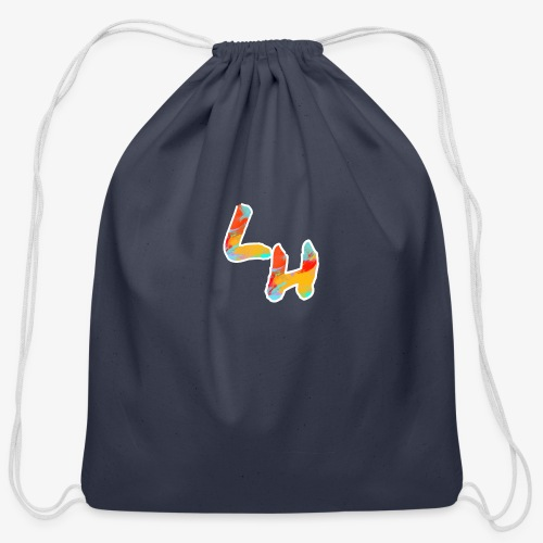 Los Hermanos Logo - Cotton Drawstring Bag