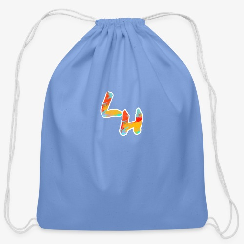 Los Hermanos Logo - Cotton Drawstring Bag