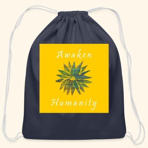 Awaken Humanity Brand - Cotton Drawstring Bag