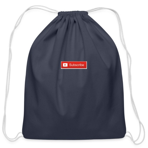YOUTUBE SUBSCRIBE - Cotton Drawstring Bag