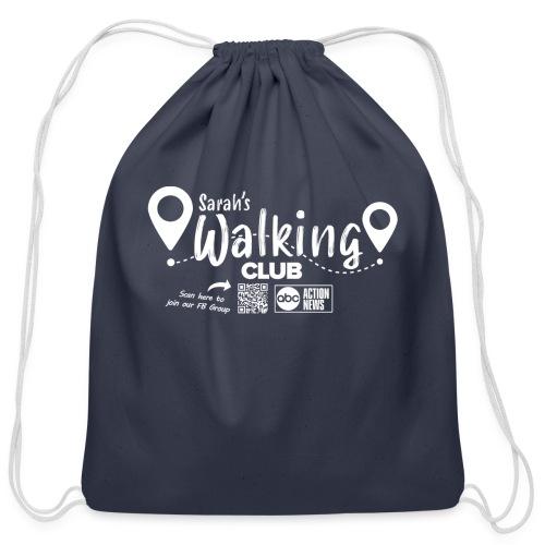 Sarah's Walking Club - Cotton Drawstring Bag