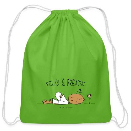 Relax & Breathe - Cotton Drawstring Bag