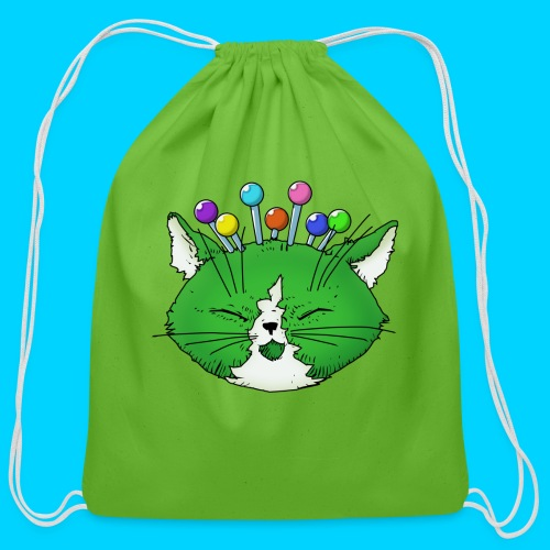 Fantastic Contraption III (no text) - Cotton Drawstring Bag