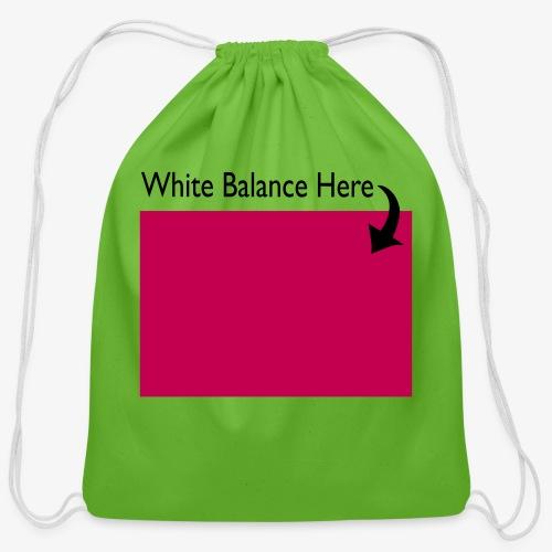 White Balance - Cotton Drawstring Bag