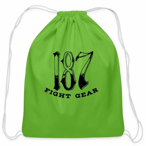 Trevor Loomes 187 Fight Gear Logo Best Sellers - Cotton Drawstring Bag