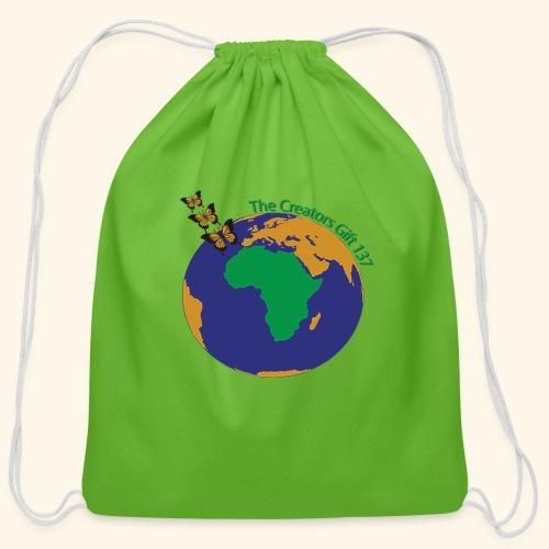 The CG137 logo - Cotton Drawstring Bag