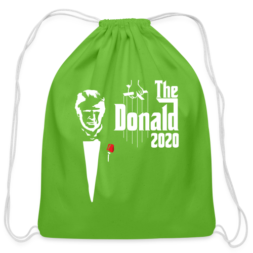 The Donald 2020 Godfather - Cotton Drawstring Bag