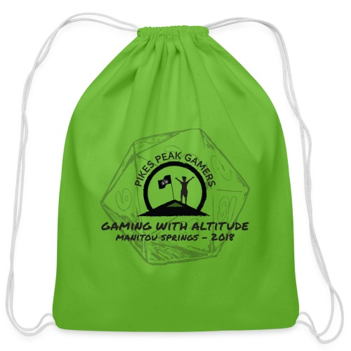 Pikes Peak Gamers Convention 2018 - Accessories - Cotton Drawstring Bag