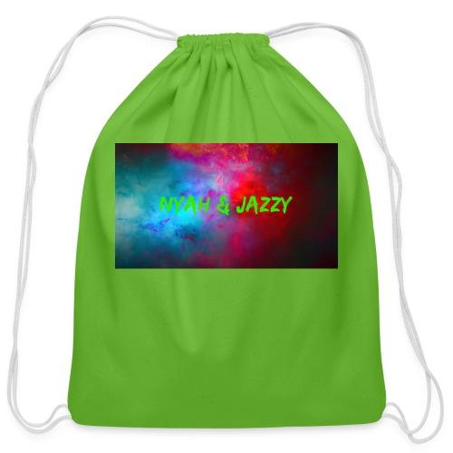 NYAH AND JAZZY - Cotton Drawstring Bag