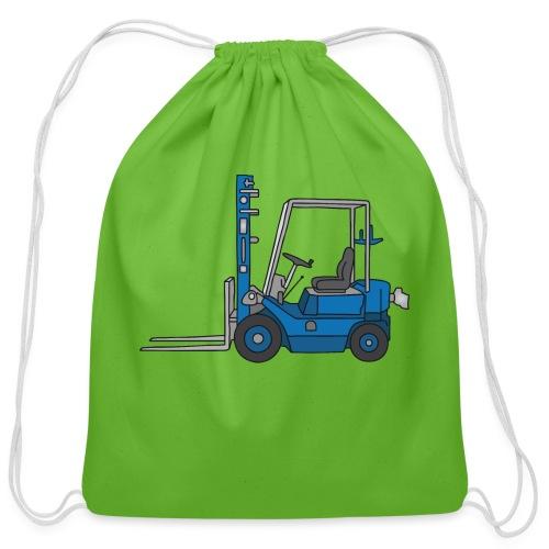 Fork-lift truck - Cotton Drawstring Bag