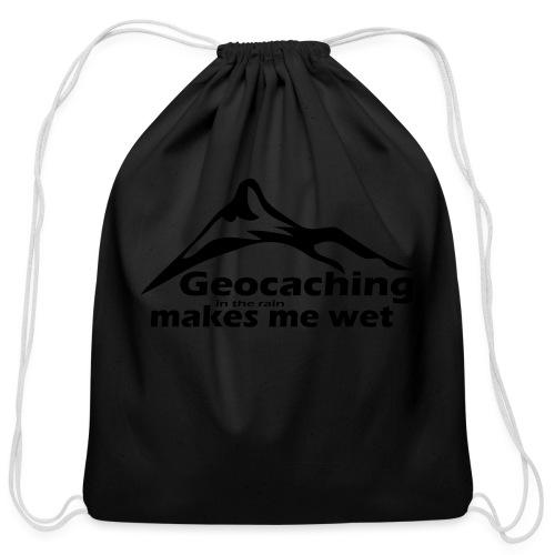 Wet Geocaching - Cotton Drawstring Bag