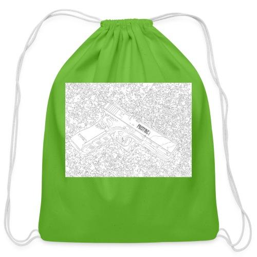 GunLines - Cotton Drawstring Bag