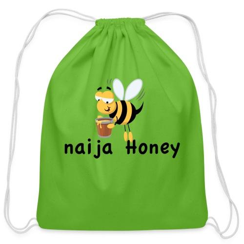naija honey... - Cotton Drawstring Bag