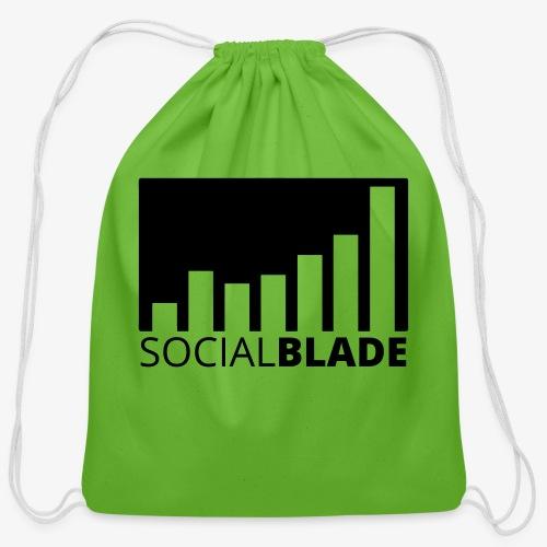 SB Blackout Logo - Cotton Drawstring Bag