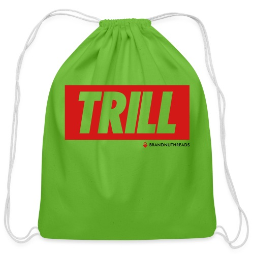 trill red iphone - Cotton Drawstring Bag