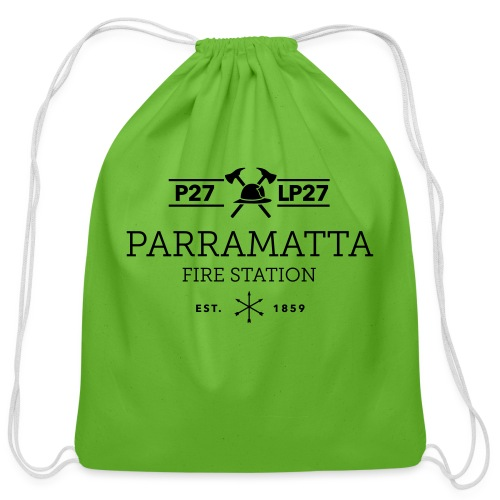 Parramatta Fire Station B - Cotton Drawstring Bag