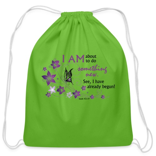 Something new - Cotton Drawstring Bag