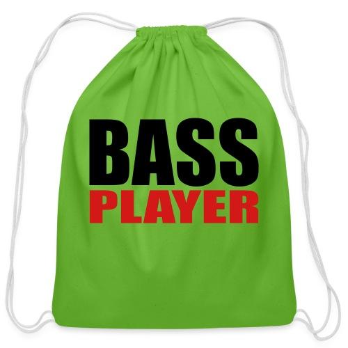 Bass Player - Cotton Drawstring Bag