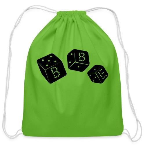 black box_vector2 - Cotton Drawstring Bag