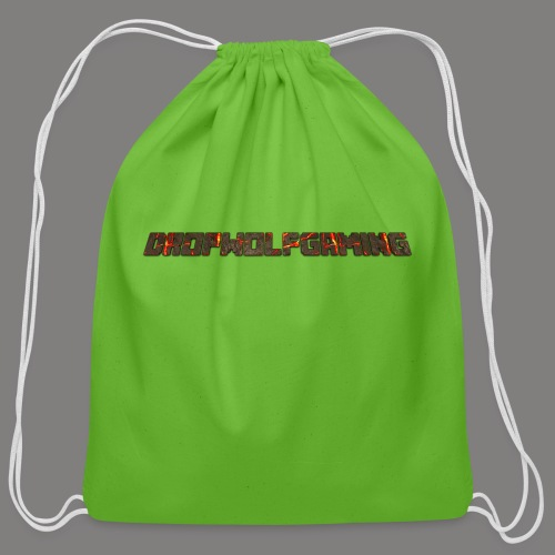 DropWolfGaming - Cotton Drawstring Bag