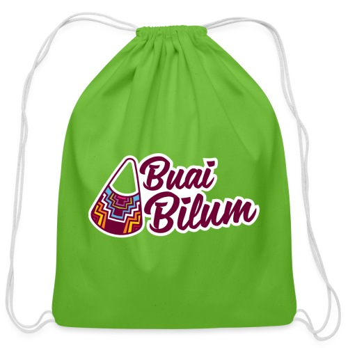 Buai Bilum - Cotton Drawstring Bag