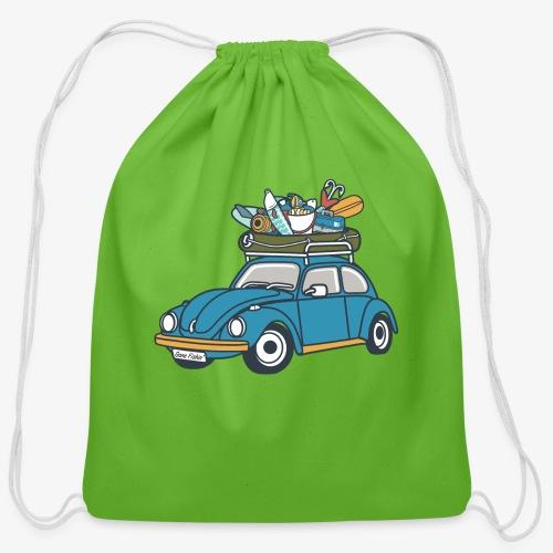 Gone Fishin' - Cotton Drawstring Bag