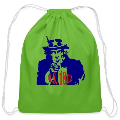 uncle-sam-1812 - Cotton Drawstring Bag