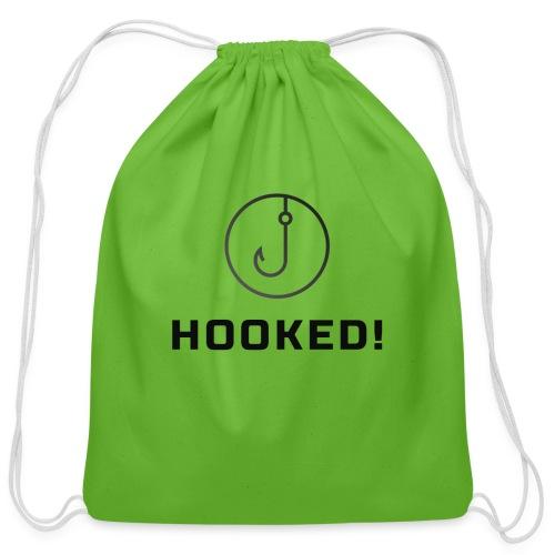 Hooked - Cotton Drawstring Bag