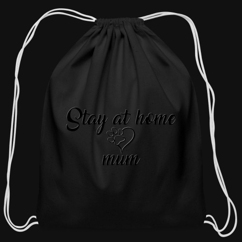 Stay At Home Mum - Cotton Drawstring Bag