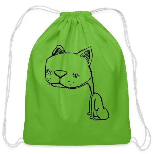 Meowy Wowie - Cotton Drawstring Bag