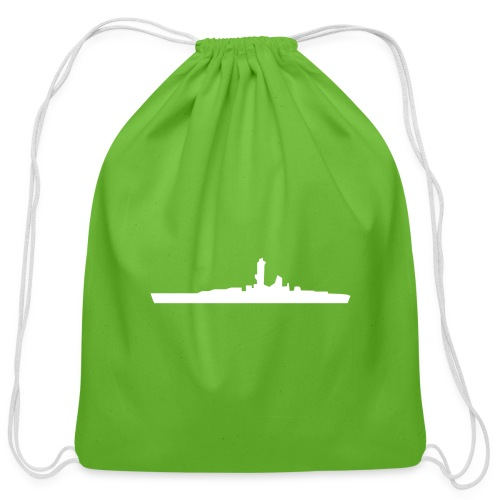 battleship - Cotton Drawstring Bag