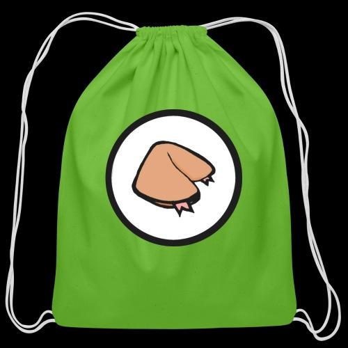 FORTUNE COOKIE DESIGNS - Cotton Drawstring Bag