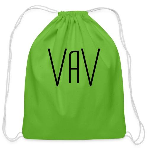 VaV.png - Cotton Drawstring Bag