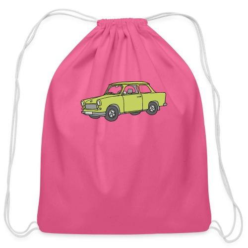Trabant (baligreen car) - Cotton Drawstring Bag