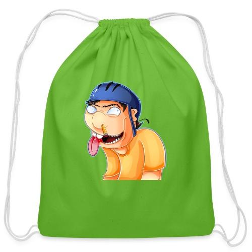 jeffy clipart - Cotton Drawstring Bag