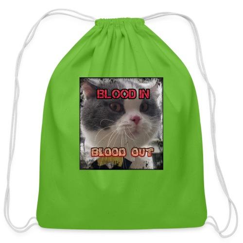 crip kity - Cotton Drawstring Bag