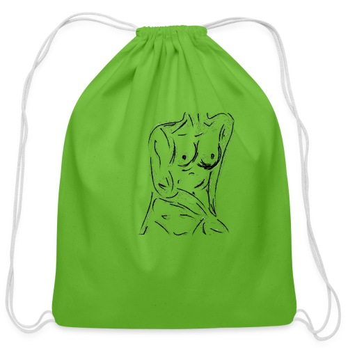 Esquisse - Cotton Drawstring Bag