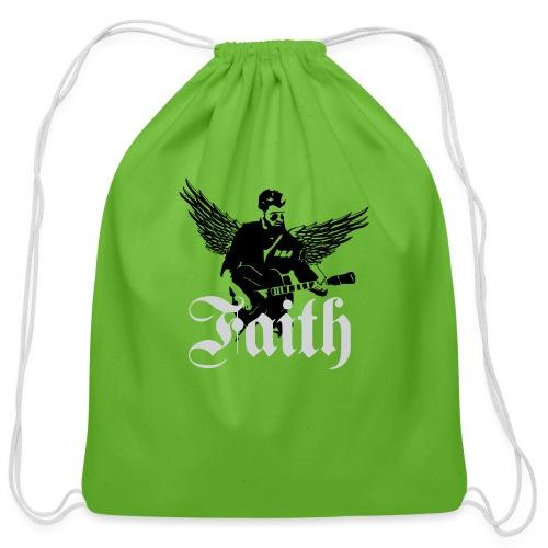 faithwings png - Cotton Drawstring Bag