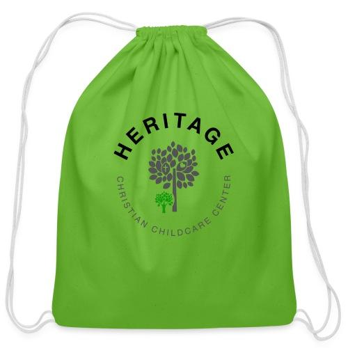 HCCC Front Logo - Cotton Drawstring Bag