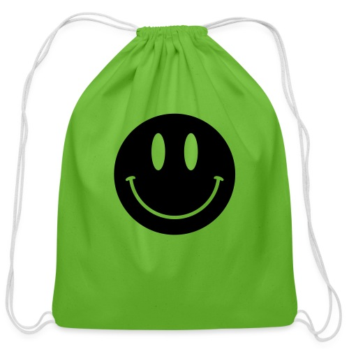 Smiley - Cotton Drawstring Bag